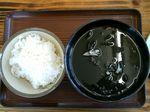 八重山 石垣 あんまー食堂 イカスミ汁