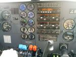 八重山 波照間-石垣間の飛行機 計器類