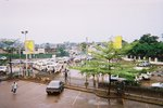 ウガンダ・カンパラ・交差点