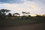 タンザニア・セレンゲティのキャンプ里
